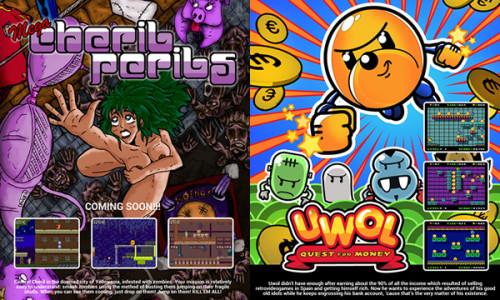 Carteles de la GamesCom