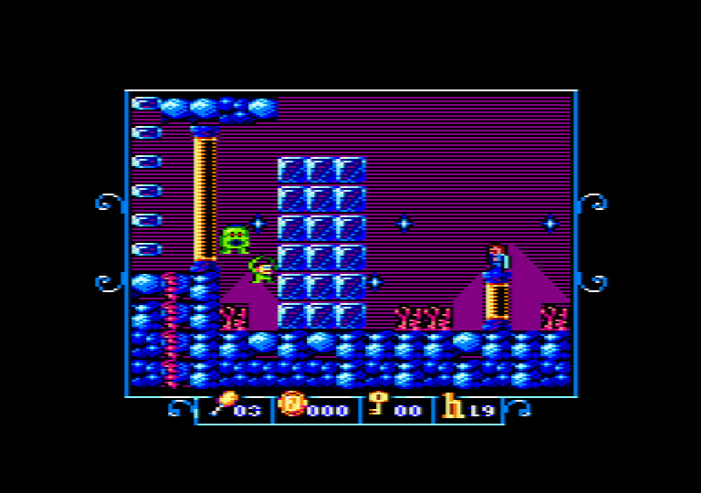 Nuevo juego mojono: Sir Ababol 2 (Amstrad CPC)