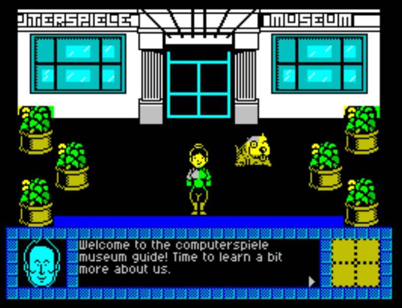 Colaboración con el Computer Spiele Museum