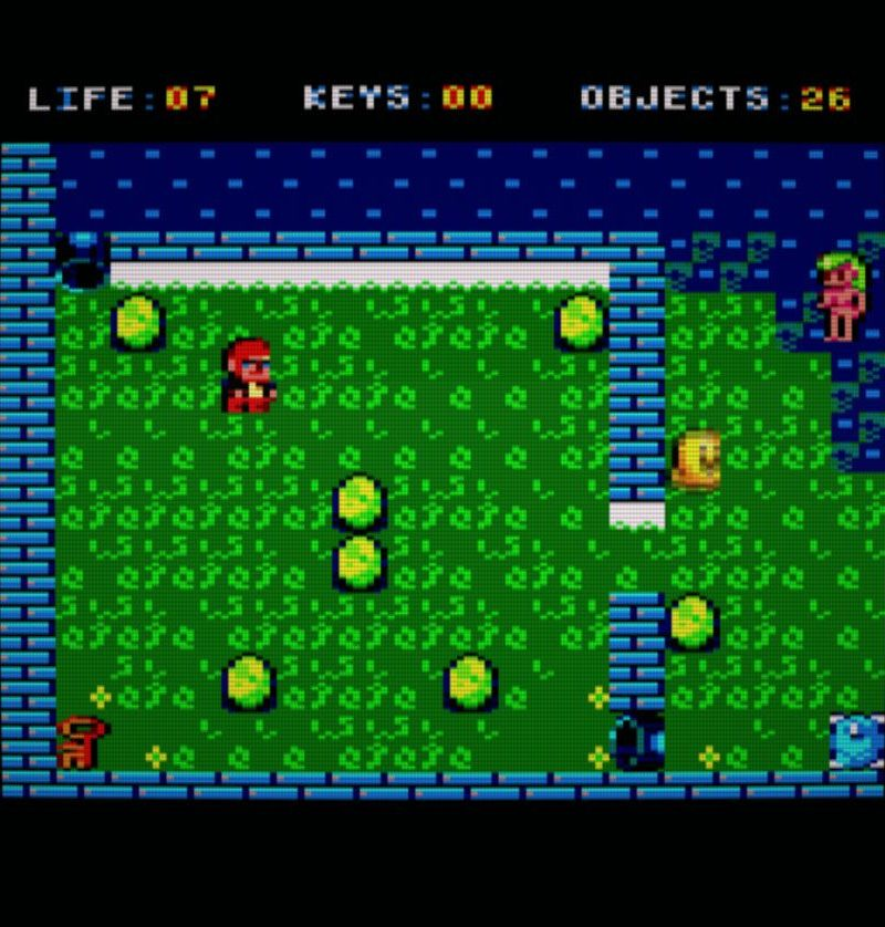 Cheril in the Bosque en otro Bosque (ZX-CPC)