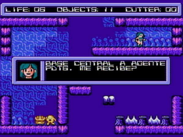 Journey to the Centre of the Alien (NES)