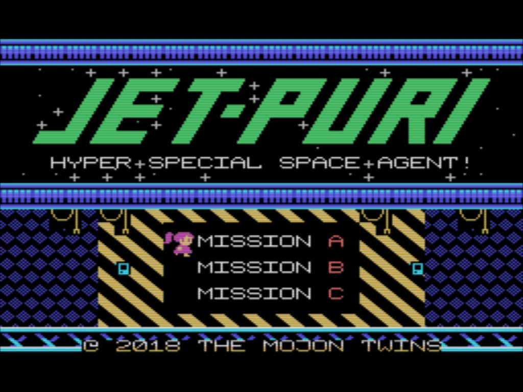 Nuevo juego mojono: Jet Paco & Jet Puri, SEGA 8bit