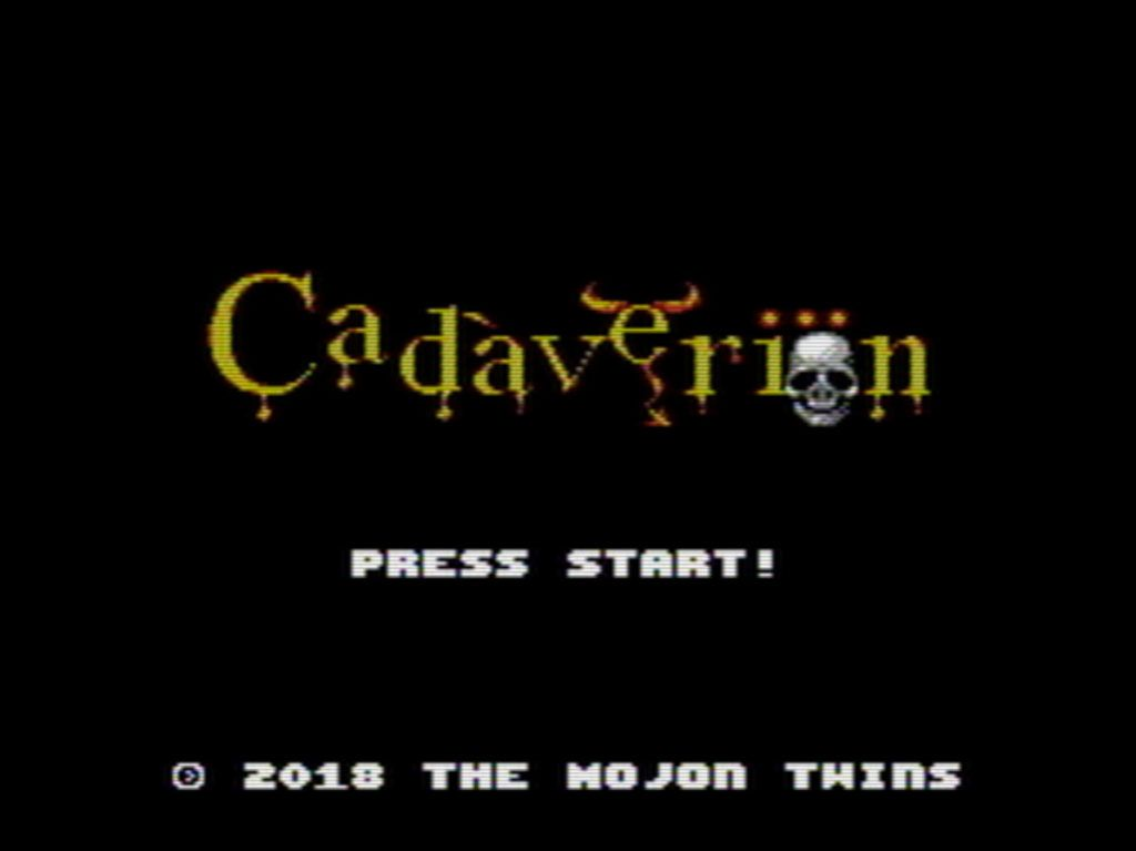 Nuevo juego mojono: Cadáveriön para NES