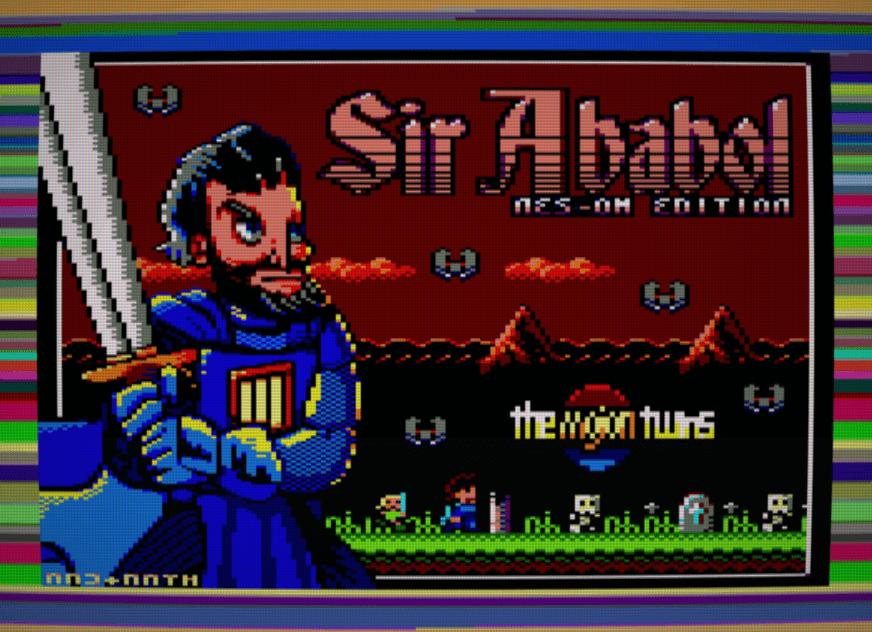 Nuevo juego mojono: Sir Ababol NES-OM Edition